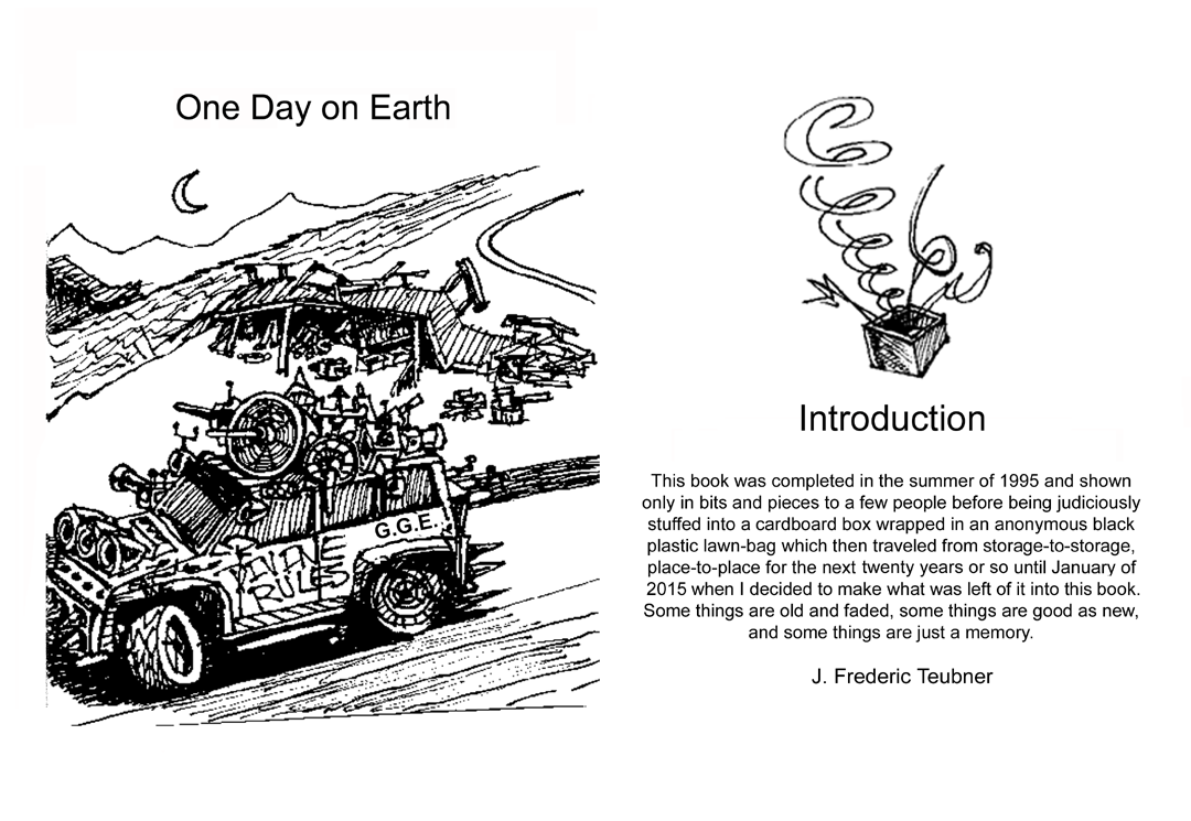 Page ii One Day on Earth by J. Frederic Teubner