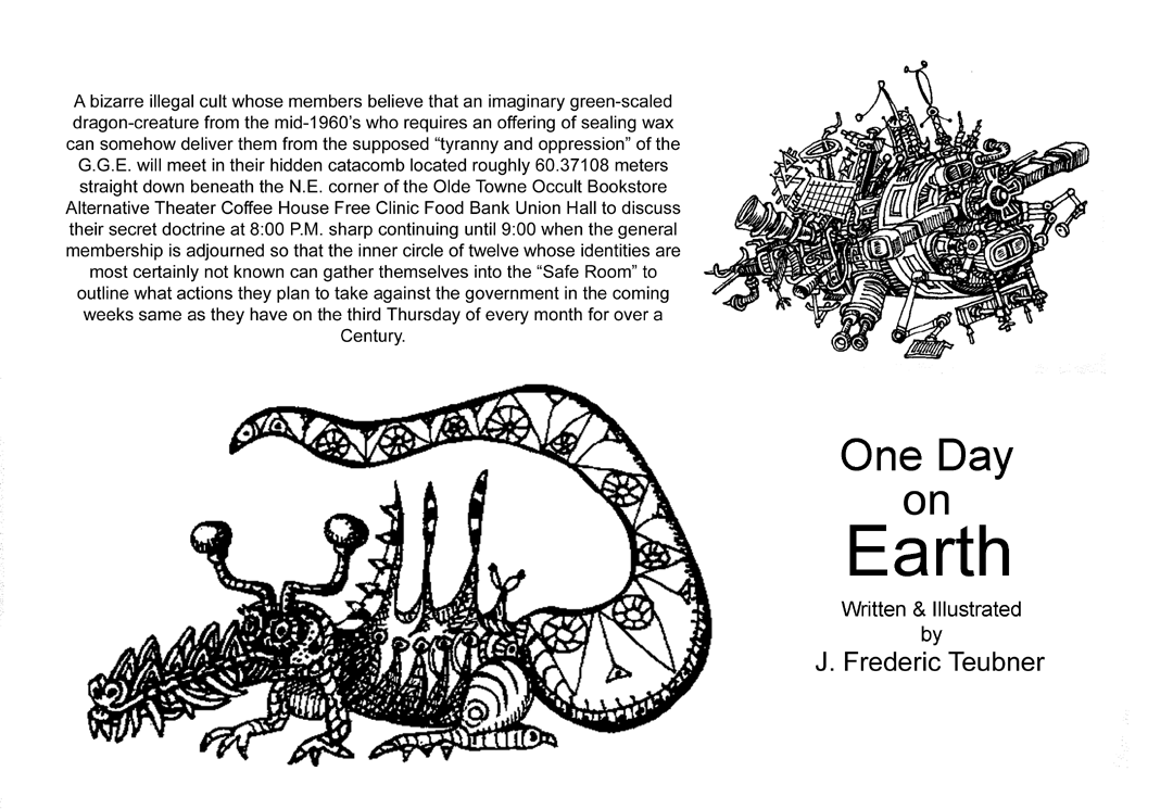 Page iii One Day on Earth by J. Frederic Teubner